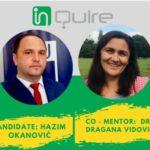 Introducing InQuire Research Incubator participants and mentors: Hazim Okanović and Dragana Vidović